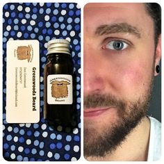 I have the worlds softest beard thanks to  // #beard #beardoil #beardedmen #scruff #smallbusiness get it from http://greenwoodsbeard.tictail.com  and https://www.etsy.com/uk/shop/GreenwoodsBeard