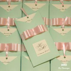 Купить Приглашение на свадьбу Вертикальный конверт №2 - мятный, зеленый, розовый, приглашения на свадьбу, приглашение