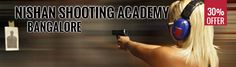 Want to learn the art of shooting? Get 30% off on Training at Nishaan Shooting Academy. Check out this exciting offer from Toboc Deals: http://www.tobocdeals.com/activities-and-hobbies/sports/bangalore-deal-nishaan-shooting-academy-121.aspx