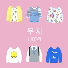 woozi shirts