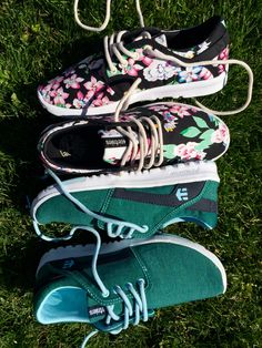 Etnies Scouts, now available in these fun summery color ways at Zumiez!