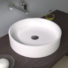 Item #:CW-113 Product Size:16.5 L x 16.5 W x 3.9 H inches Material: Solid Surface/Stone Resin Color / Finish: Matte White #WALLHUNGSINK