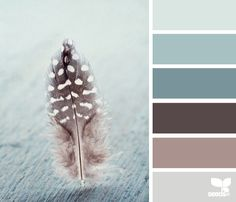 feathered tones color palette from Design Seeds Colour Pallette, Color Palate, Colour Schemes, Color Combos, Design Seeds, Wall Colors, House Colors, Colours, Paint Colors