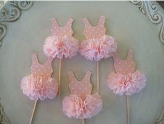 Ballerina cupcake topper