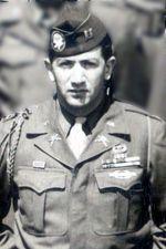 Capt George E. Giuchici, 505th PIR, Company A CO - 1946