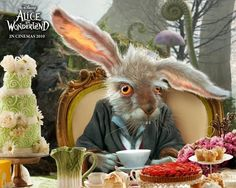 March Hare from Tim Burton's Alice in Wonderland