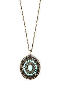 Next Stop, Paradise Earrings and Necklace Set | Mod Retro Vintage Necklaces | ModCloth.com