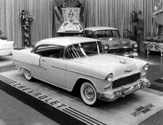 1955 Bel Air sport coupe… and factory car show display 1955 Chevrolet, Chevrolet Bel Air, Gm Car, 1955 Chevy, American Classic Cars, Retro Cars, Vintage Cars, Retro Vintage, Car Photography