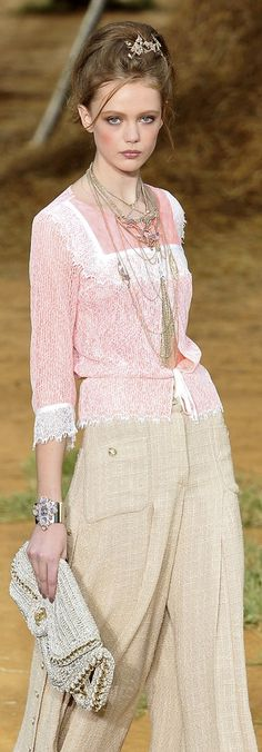 Chanel-Ingenue with Natural pants