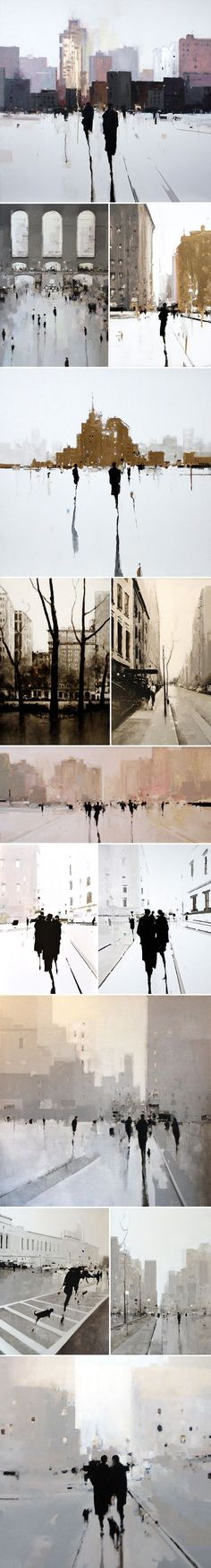 New Year's Resolution No.1 … spend more time in New York! When I saw these gorgeous oil on wood...