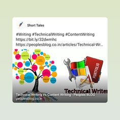Technical Writer, Content, Thoughts, Writing, Blog, Blogging, Being A Writer, Ideas
