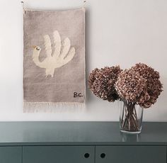 Hand Trick tapestry made of wool from New Zealand collection Hand Tricks, How To Disappear, Weaving Art, Under Stairs, Small Rugs, Home Accessories, Home Goods, Kids Room, Place Card Holders