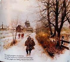rien poortvliet - winter in Nederland