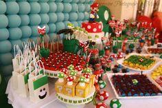 Decoração Festa Infantil Mario Bros – Inspire sua Festa ®