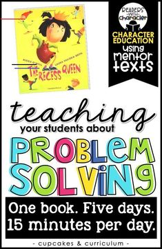 Problem Solving Character Education Social Emotional Learning SEL is part of Social emotional learning - Emoti Character Education Lessons, Social Skills Lessons, Teaching Social Skills, Social Emotional Learning, Student Teaching, Life Skills, Teaching Character, Coping Skills, Colleges For Psychology