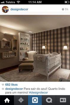 Quarto de bebê Baby bedroom