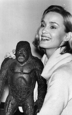 Jessica Lange and King Kong, c.1976