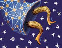 Christmas Cards by Ilona Partanen, via Behance