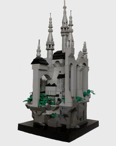 Microscale Gothic Castle | The Brothers Brick | LEGO Blog