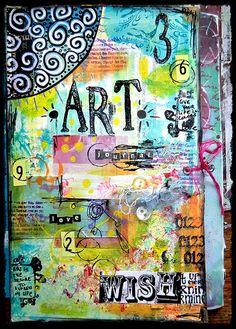Art Journal Cover(by Pretty Days - NESSA)