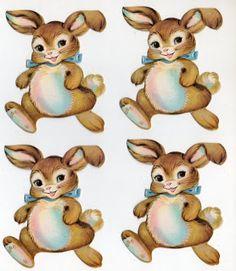 24 Free Vintage Easter Printables