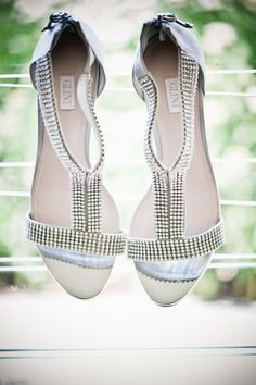 Silver Bridal Shoes   Kristin Chalmers Photography https://www.theknot.com/marketplace/kristin-chalmers-photography-arlington-ma-366477