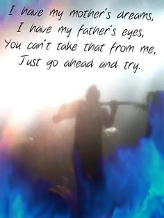 Playing with photobucket. But yay Rise Against! (lyrics from Help is on the Way)