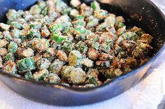 Fried Okra Recipe fr