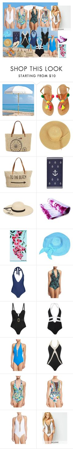 """""""Summer 2016"""" by marciabackermendes on Polyvore featuring moda, Frankford, Straw Studios, Betsey Johnson, Designers Guild, Mikoh, FUZZI, Agent Provocateur, JETS e Tory Burch"""