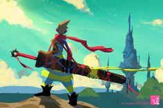 The Art Of Animation, Oswaldo KATO Aka: Ozoztv