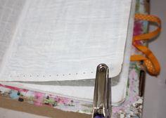 Making a Composition Book Art into a Journal 19 (Tutorial) via lilblueboo.com
