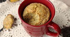 Banana Cornbread Mug Cake. Banana Cornbread Mug Cake.an easy and delicious treat for one! gluten-free and sugar-free. Gluten Free Mug Cake, Gluten Free Sweets, Gluten Free Baking, Mug Recipes, Cake Recipes, Banana Mug Cake, Muffin In A Mug, Quick Cake, Single Serving Recipes