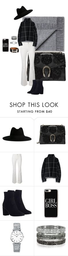 """Girl boss"" by macwalborn ❤ liked on Polyvore featuring Yves Saint Laurent, Gucci, STELLA McCARTNEY, Chicwish, Zimmermann, Casetify, Longines and Bernard Delettrez"
