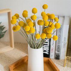 Billy Balls, Diy Flower Arrangements Home, Floral Arrangements, Bunch Of Flowers, Diy Flowers, Fresh Flowers, Flowers Nature, Flower Branch, Flower Tat
