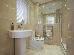 4 bedroom semi-detached house for sale in Helmshore, Rossendale, - Rightmove. Kitchen Sink Faucets, Kitchen And Bath, Bathroom Inspiration, Bathroom Inspo, Bathroom Designs, Bathroom Ideas, Timeless Bathroom, New Homes For Sale, Ideal Home