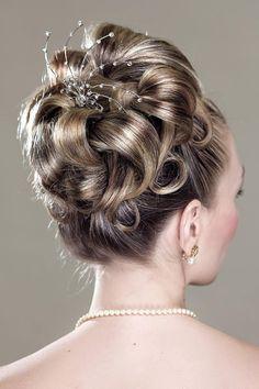 A Bride's Bridal Hair