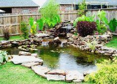 outdoor koi pond - Google Search