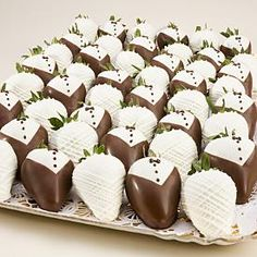 Chocolate covered strawberries.... And that's as healthy as I'll be at my wedding So look cute!!!!