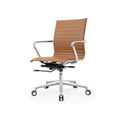 Austin Midback Office Chair Brown