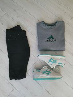 krystekjestem#Outfit #Outfitgrid #grid #outfitstreetwear #streetwear #heatradar #adidaseqt #adidasequipment #asics #teamasics #asicsgellyteiii #denim #streetwearoutfit #blackandwhite #blackandred #blackandblack #followme #hype #hypebeast