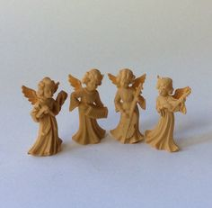 A personal favorite from my Etsy shop https://www.etsy.com/listing/467198116/vintage-german-plastic-angel-band