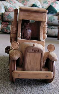 Toy/Model Truck by RusticJohn.