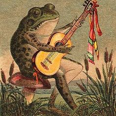 This image is associated with American guitarist Glenn Jones. Anyone know why other than this fellow is a charming guitarist as well? Artist?