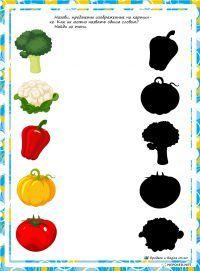Schaduwen groenten