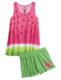 ed5519fdb9 Shop Watermelon Pajama Set and other trendy girls pajamas sleepwear at  Justice. Find the cutest