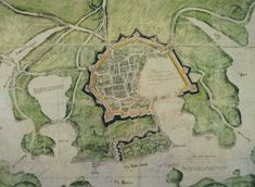 Very early map of Plymouth Plymouth Map, Plymouth Barbican, Plymouth England, Burning Girl, England Map, Devon Uk, Fortification, Interesting History, Old Photos