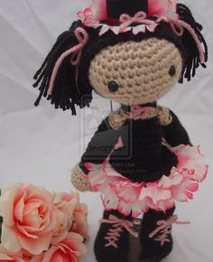 So cute!   Amigurumi doll - New pattern by ~Lady-Nocturna on deviantART