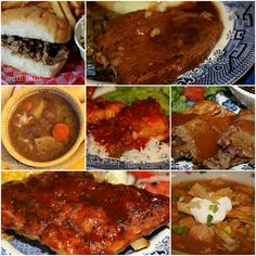 A collection of slow cooker recipes from Deep South Dish. Use your crockpot to make everything from beef, ribs, beans, chili, soup, pork, spaghetti, chili and chicken!