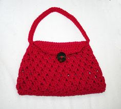 Tampa Bay Crochet: Free Pattern - Stylish Crochet Handbag