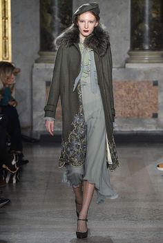 Luisa Beccaria - A wardrobe for a lady. Very Parisian 1950's aristocrat. Loved every look! thestyleweaver.com Fall 2015 Ready-to-Wear